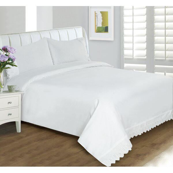 Buffalo Lace 400 Thread Count Sheet Set by Alcott Hill