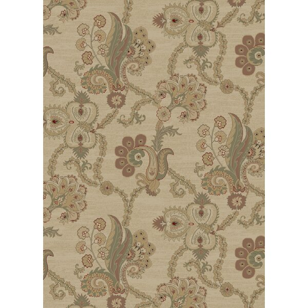 Heritage Casual Elegance Ivory Area Rug by Mayberry Rug