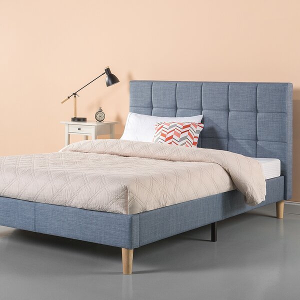 Gabriela Upholstered Platform Bed by Foundstone