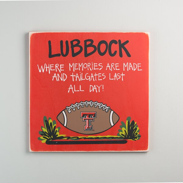 Texas Tech Tailgate Graphic Art by Glory Haus