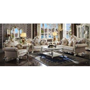 Mariel 3 Piece Living Room Set by Rosdorf Park