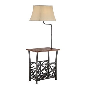 Batesville 54″ Swing Arm Floor Lamp