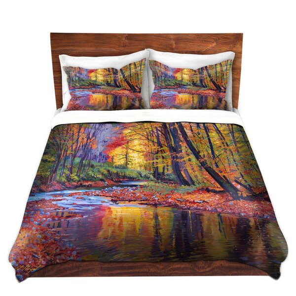 Autumn Prelude Duvet Set by East Urban Home