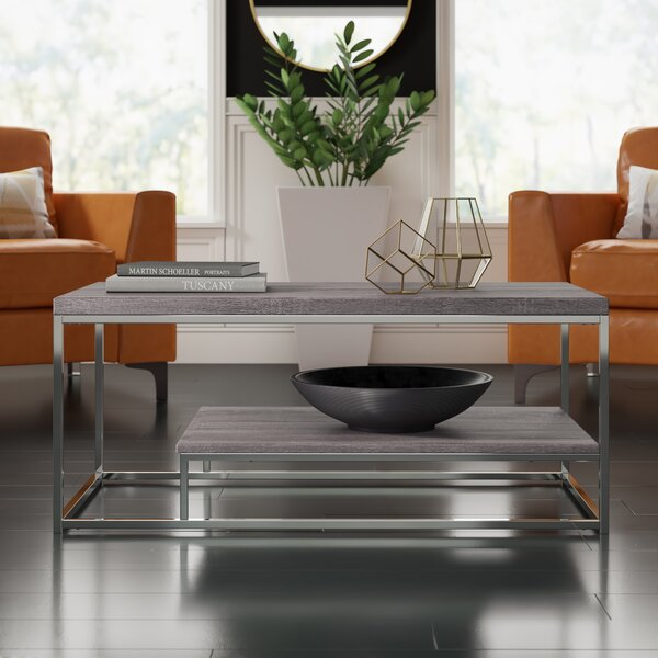 Philippos Sled Coffee Table By Mercury Row