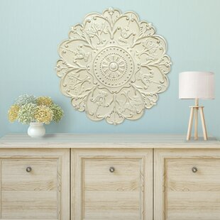 shabby medallion wall dcor - Shabby Chic Wall Decor