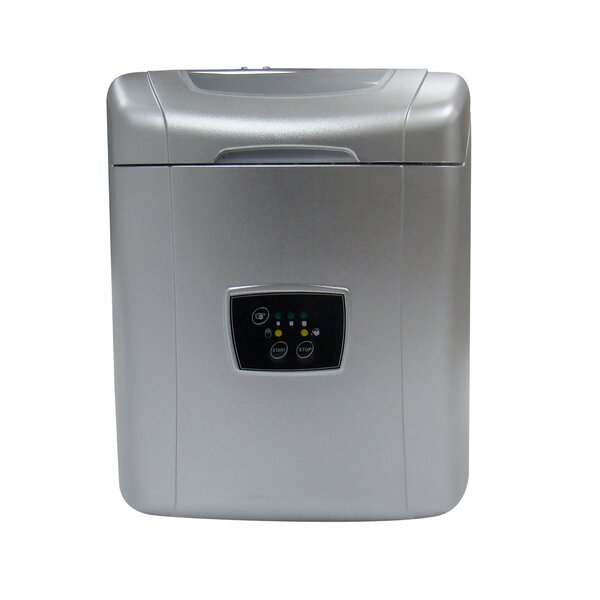 26 lb. Daily Production Portable Ice Maker by Vinotemp