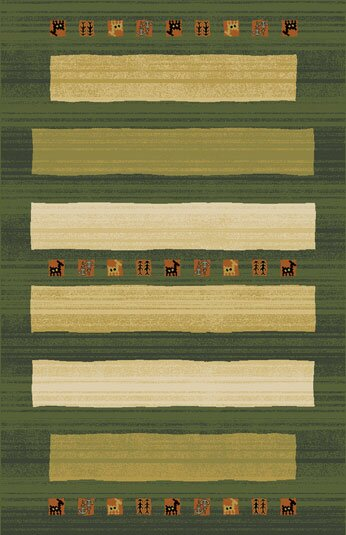 Gillam Green Area Rug by Bloomsbury Market