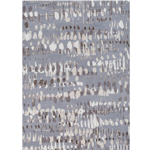 Ladson Gray Area Rug by Wrought Studio