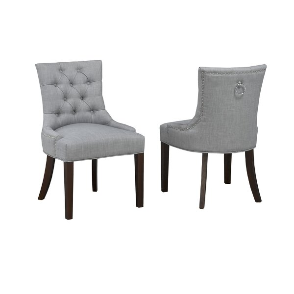 Letitia Upholstered Dining Chair (Set of 2) by Darby Home Co