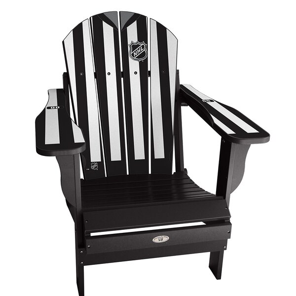 NHL Plastic Folding Adirondack Chair by My Custom Sports Chair