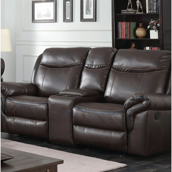 Hassen Transitional Reclining Loveseat by Latitude Run