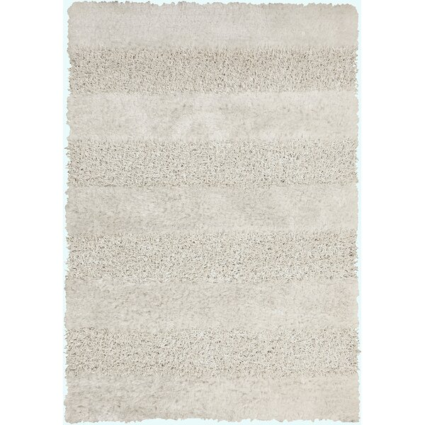 Winfrey White Area Rug by Darby Home Co