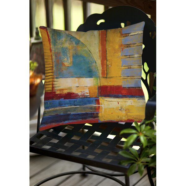 Copeland 1 Indoor/Outdoor Throw Pillow by World Menagerie