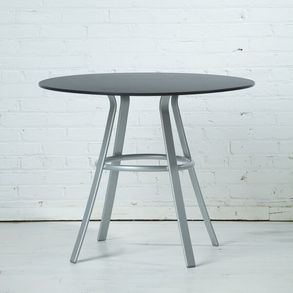 Rahn Round Plastic Dining Table by Orren Ellis