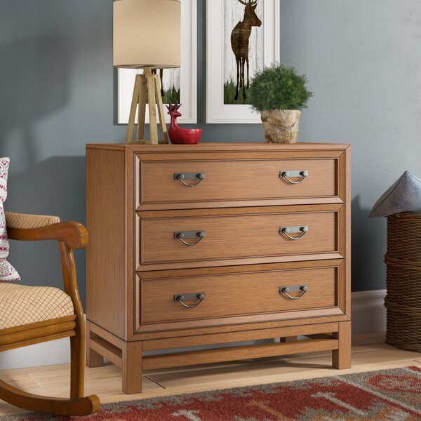 Jensen 3 Drawers Chest by Three Posts