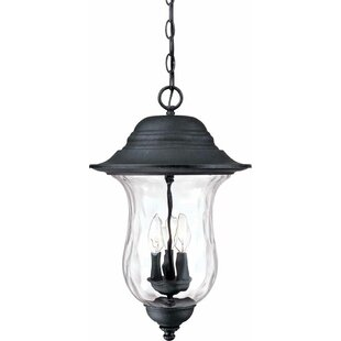 Check Prices Aurora 3-Light Outdoor Hanging Lantern By Volume Lighting
