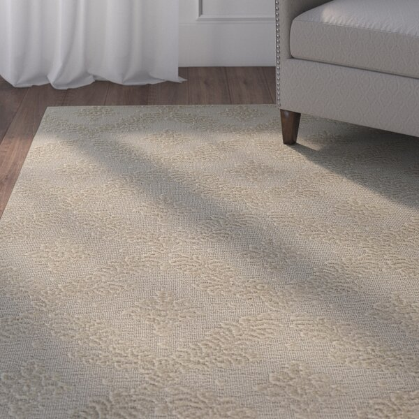 Spafford Tan Area Rug by Charlton Home
