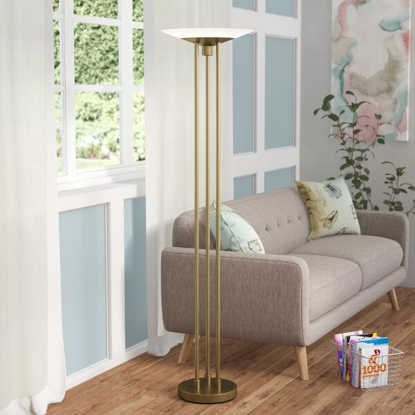 Laureldale 71 LED Torchiere Floor Lamp by Latitude Run