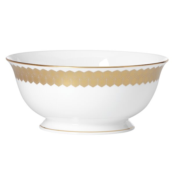 Prismatic Gold Serving Bowl by Lenox