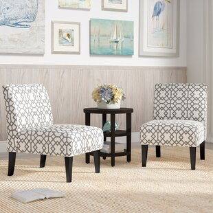 Order Veranda Slipper Chair (Set of 2) By Highland Dunes