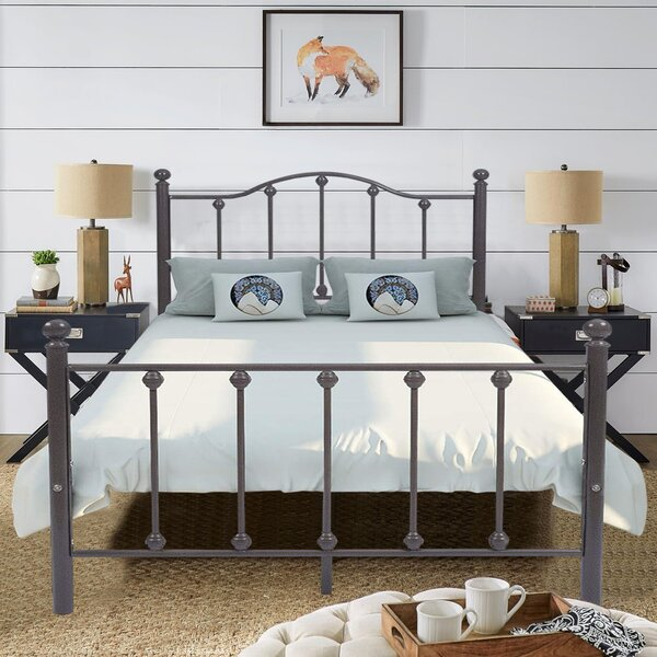 Bowmans Metal Platform Bed by Winston Porter