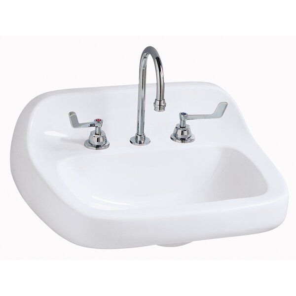 Grande Isle Vitreous China 22 Wall Mount Bathroom Sink by Mansfield Plumbing Products