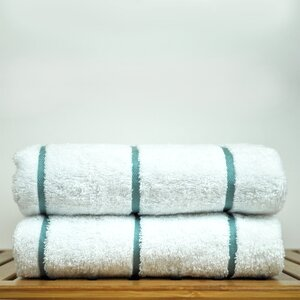 Luxury Hotel and Spa Towel 100% Genuine Turkish Cotton Pool Beach Towel (Set of 2)