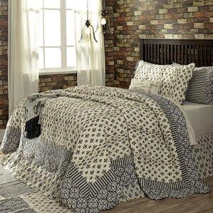 Ruched Rosette Quilt | Wayfair : rosette quilt - Adamdwight.com