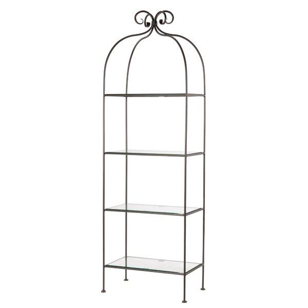 Churchill 4 Tier Corner Unit Bookcase by Fleur De Lis Living