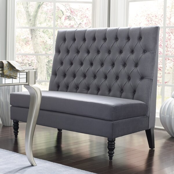 Greenford 49.5 Tufted Settee Bench by Willa Arlo Interiors