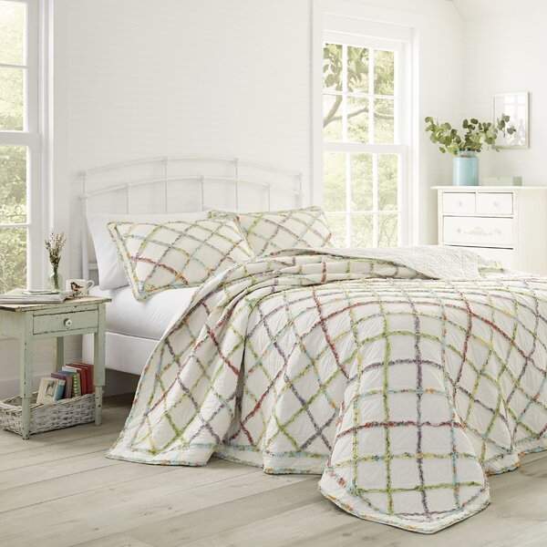 Ruffled Garden Reversible Quilt by Laura Ashley Home
