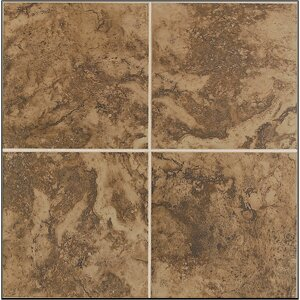 Pavin Stone 2 x 2 Ceramic Mosaic Tile in Brown Suede by Mohawk Flooring