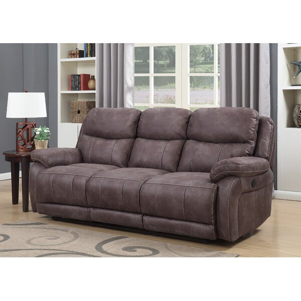 Classy Rippy Reclining Sofa by Latitude Run by Latitude Run