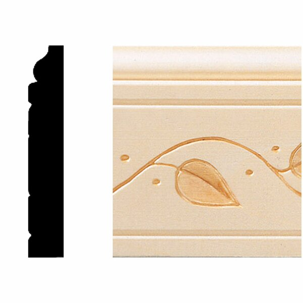 1/2 in. x 3 in. x 8 ft. Hardwood Base Moulding by Manor House