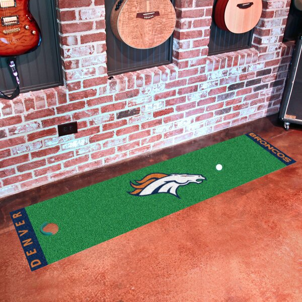 NFL Denver Broncos Putting Green Mat by FANMATS