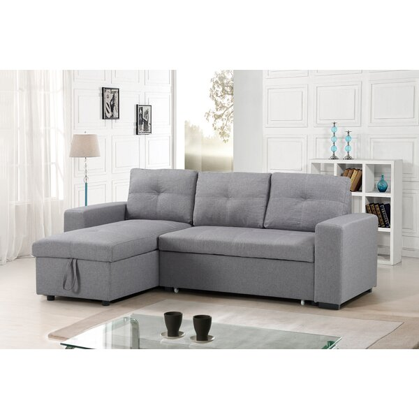 Thack Reversible Sleeper Sectional by Ebern Designs Ebern Designs