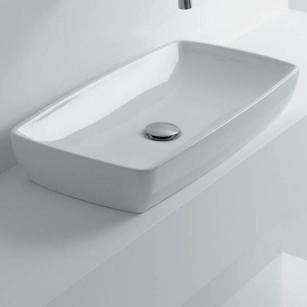 H10 Rectangular Vessel Bathroom Sink