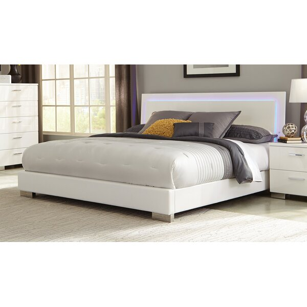 Hardwick Upholstered Standard Bed by Wade Logan