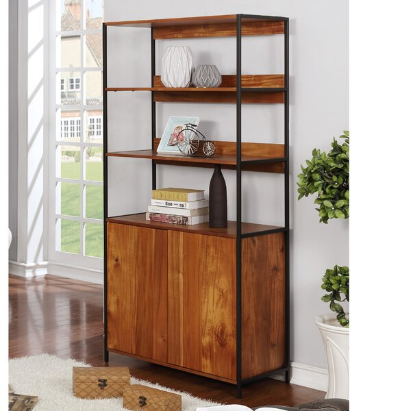 Melanie Standard Bookcase by 17 Stories