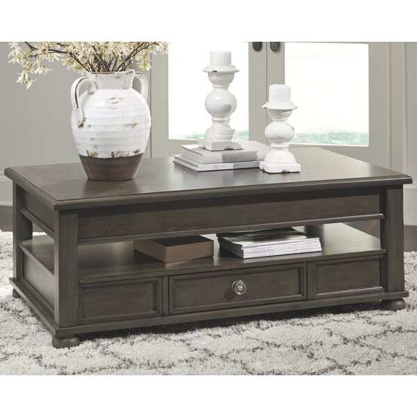 Gabilan Lift Top Coffee Table by Alcott Hill Alcott Hill