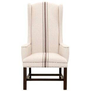 Bartram Wingback Chair by One Allium Way