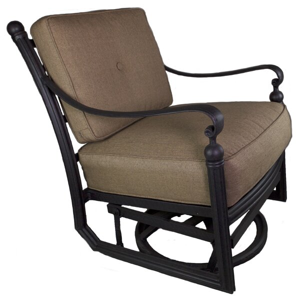 Baldwin Patio Chair with Cushion by California Outdoor Designs