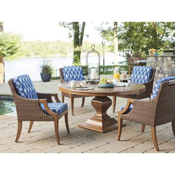 Harbor Isle 5 Piece Dining Set with Cushions
