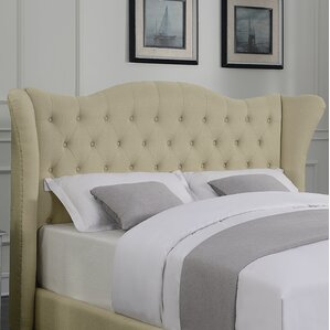 Phillip Upholstered Wingback Headboard by Darby Home Co
