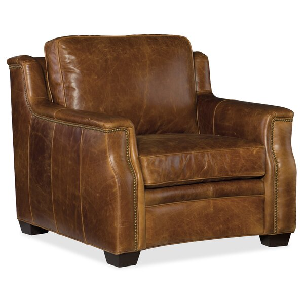 Yates Stationary Club Chair by Hooker Furniture