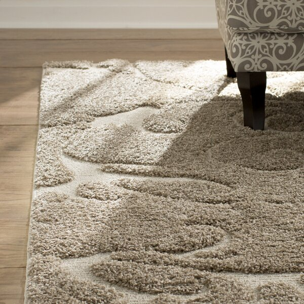 Cincinnatus Beige Area Rug by Three Posts