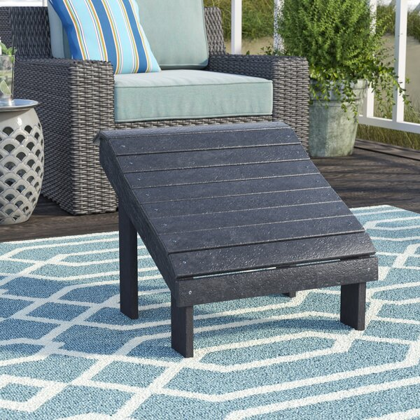 Sandiford Outdoor Ottoman by Beachcrest Home