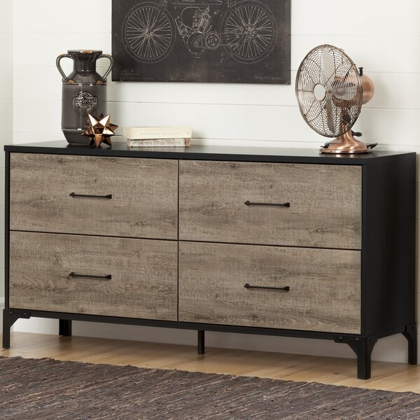 New Valet 4 Drawer Double Dresser By South Shore Discount