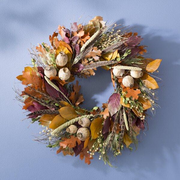 22 Autumn Pheasant Wreath by August Grove