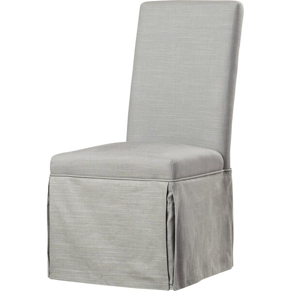 Io Linen Upholstered Parsons Chair (Set Of 2) By Willa Arlo Interiors